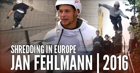 Jan Fehlmann shredding in Europe (2016)