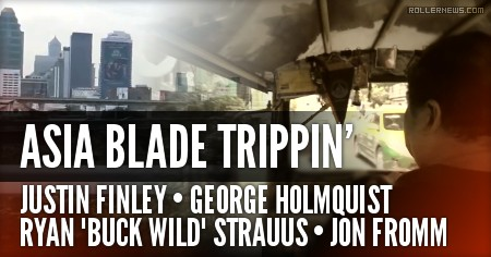 Asia Blade Trippin (2016) by Jon Fromm (Full Video)