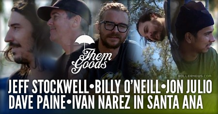 Jeff Stockwell, Billy O'Neill, Jon Julio, Dave Paine & Ivan Narez: Santa Ana Park Session (2016)