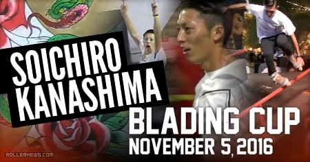 Soichiro Kanashima @ The Blading Cup 2016: Raw Clips