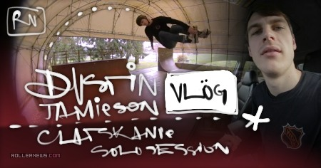 Dustin Jamieson's Vlog: Clatskanie Solo Session (2016)