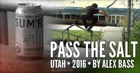 Pass the salt (2016, Salt Lake City) by Alex Bass