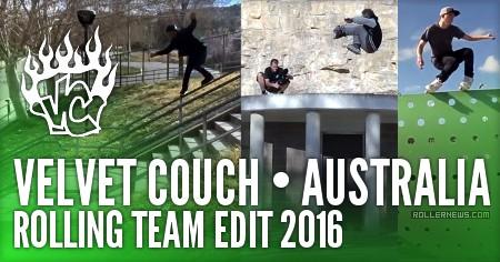 Velvet Couch (Australia): Rolling Team Edit (2016)