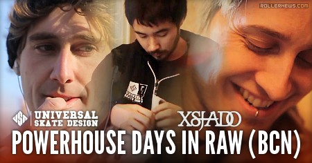 USD / Xsjado Powerhouse days in raw (BCN, 2010): Richie Eisler, Dominic Sagona, Albert Hooi & Friends