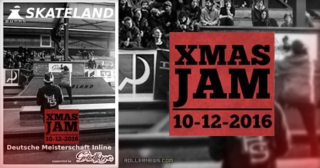 X-Mas Jam 2016 (Hamburg): Blading Deutschland  Edit