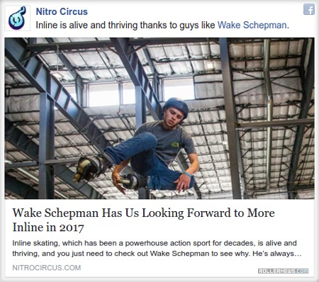 Nitro Circus: Inline is alive and thriving thanks to guys like Wake Schepman