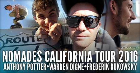 Nomades Team (France): California Tour (2016) with Anthony Pottier, Warren Digne & Frederik Bukowsky