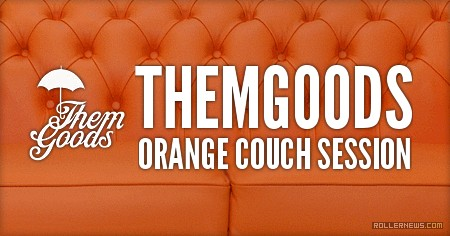 Themgoods Orange Couch Session