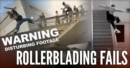 Rollerblading Fails (201x): Compilation by Ivan Higgins