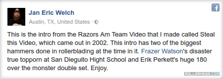 Steal this Video: The Razors Am Team | Intro Section
