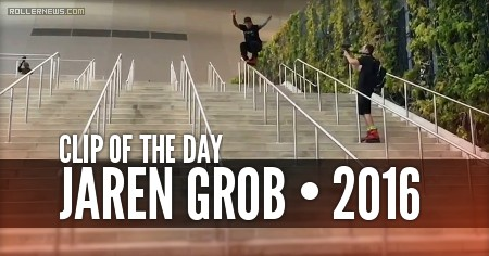 Clip of the day: Jaren grob skating the superdome in New Orleans (2016)
