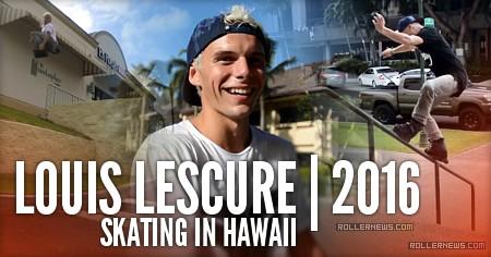 Louis Lescure (France): Hawaii 2016