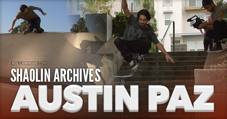 Austin Paz x Shaolin Archives