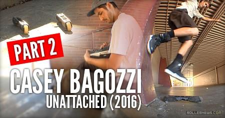 Casey Bagozzi: Unattached (2016)