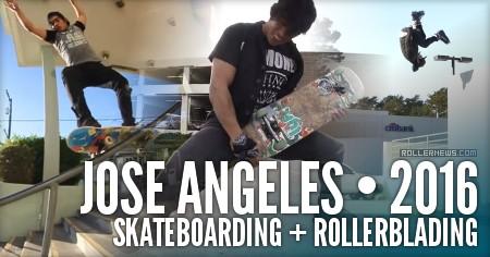 Jose Angeles: Skateboarding + Rollerblading (2016)