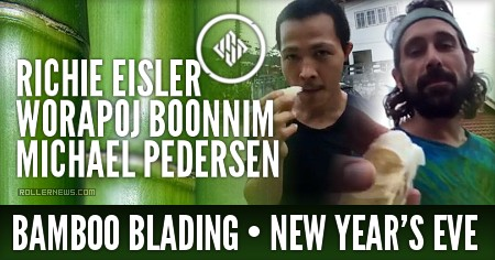 Richie Eisler, Worapoj Boonnim & Michael Pedersen: Bamboo box on new year's eve | USD Skates Edit