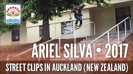 Some Street Clips in Auckland (New Zealand) with Ariel Silva (2017)