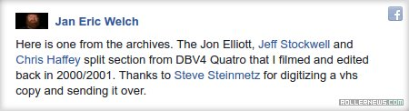 DBV 4 Quatro: Jon Elliott, Jeff Stockwell & Chris Haffey split section