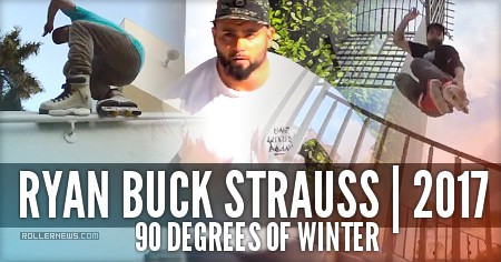 Ryan Buck Strauss: 90 Degrees of Winter (2017)
