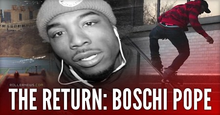 The Return: Boschi Pope (2017) by Terrence Henry