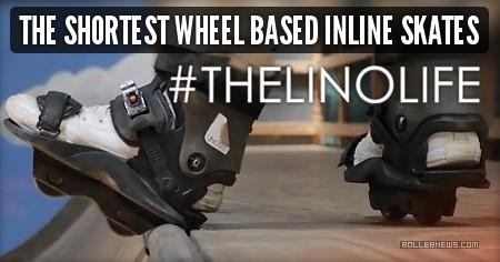 The Shortest Wheel Based Inline Skates Ever