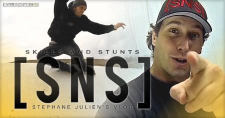 Stephane Julien: Rollerblading + Stunt Vlog (2017)