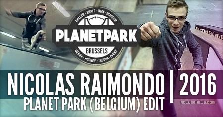 Nicolas Raimondo: Planet Park (Belgium) Edit (2017)