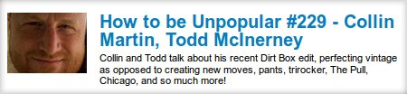 Mushroom Blading: How to be Unpopular #229 - Collin Martin, Todd McInerney