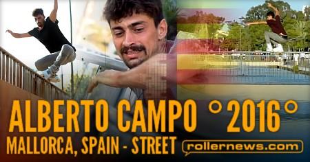 Alberto Campo (Mallorca, Spain): 2016 Edit