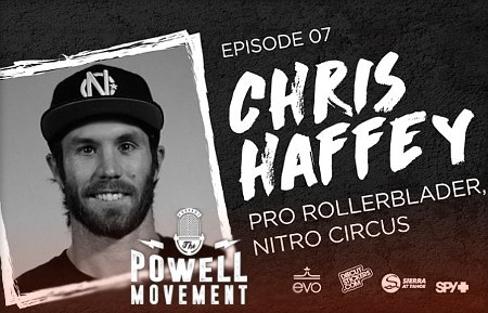 Chris Haffey: Podcast with Mike Powell (2017)