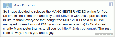 Elliot Stevens: MCR Video (2016) Section