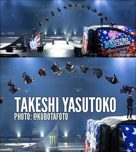 Takeshi Yasutoko - Nitro Circus 2017