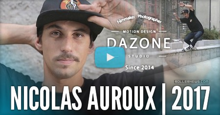 Nicolas Auroux – some tricks in Grenoble (France)