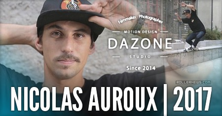 Nicolas Auroux - some tricks in Grenoble (France)
