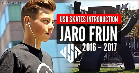 Jaro Frijn 2016 – 2017 | USD Skates Introduction