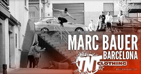 Marc Bauer shredding Barcelona (2017)