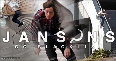 Nils Jansons - GC Blacklist - 2017