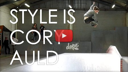 Cory Auld shredding a park in South Africa (2017)