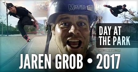 Jaren Grob - day at the skatepark (2017 )