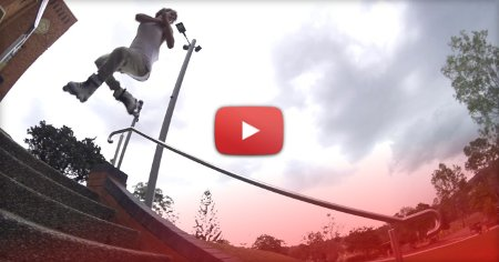 Clip of the day - Paulie Haack, 900 down a 9 stair set