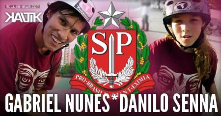 Danilo Senna (11) and Gabriel Nunes - Chill Bowl Session in Brazil (2017)