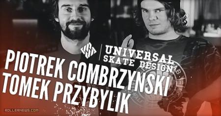 USD Flic Flac experience – Piotrek Combrzynski & Tomek Przybylik ride the MEGA RAMP