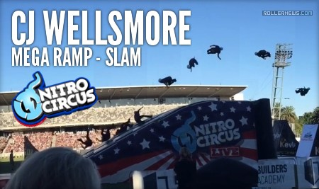 CJ Wellsmore - Slam on the Mega Ramp (Nitro Circus)
