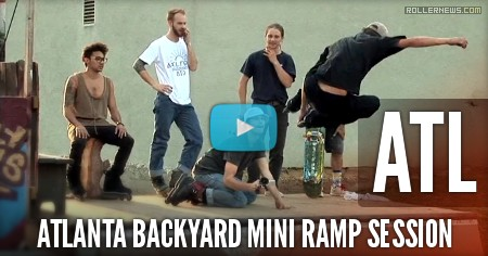 Atlanta Backyard Mini Ramp Session (2017) with Carson Starnes, Chris Smith, Julian Bah & Friends