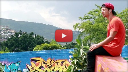 Roman Abrate in Colombia – Park Clips (2017)