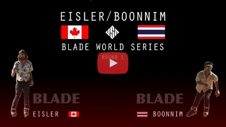 BLADE world series - Richie Eisler vs. Worapoj Note Boonnim   USD Skates