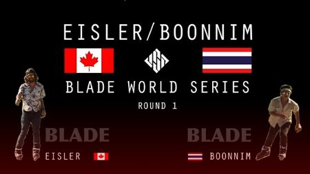 BLADE world series - Richie Eisler vs. Worapoj Note Boonnim | USD Skates