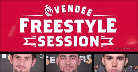 Vendee Freestyle Session 2017 - Warmup session with Antony Pottier, Julien Cudot & Friends
