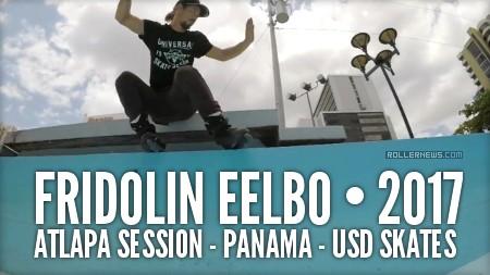 Fridolin Eelbo - ATLAPA Session in Panama (2017) - USD Skates, Edit
