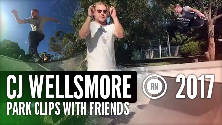 Cj Wellsmore - Park Clips with Friends (2017)